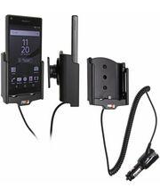 Brodit držák do auta na Sony Xperia Z5 compact bez pouzdra, s nabíjením z cig. zapalovače