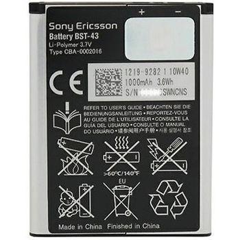 Sony baterie BST-43 pro SonyEricsson J20i Hazel, Xperia X2, U100, J108, 1000mAh eko-baleni