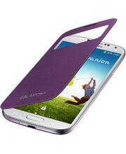 Samsung flipové pouzdro S-view EF-CI950BV pro Galaxy S4 (i9505), fialová