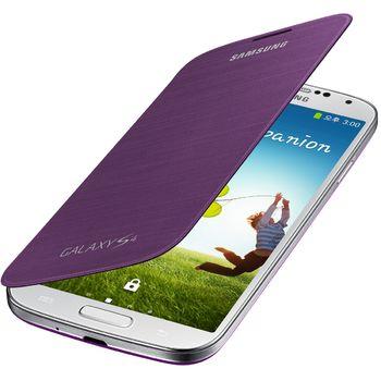 Samsung flipové pouzdro EF-FI950BV pro Galaxy S4 (i9505), fialová