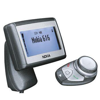 Bluetooth HF sada do auta Nokia 616 s displejem