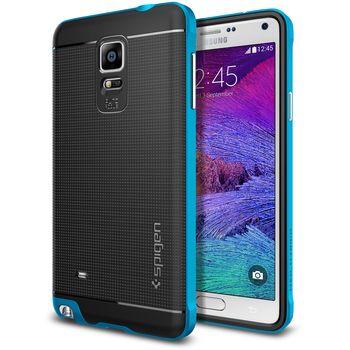 Spigen pouzdro Neo Hybrid pro Samsung Galaxy Note 4, modrá