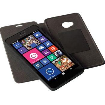 Krusell pouzdro FolioSkin Kiruna pro Microsoft Lumia 640 XL, černá