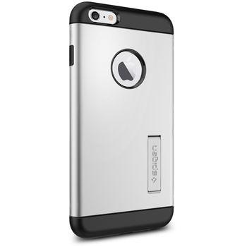 Spigen pevné pouzdro Slim Armor pro Apple iPhone 6 Plus, stříbrná