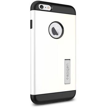 Spigen pevné pouzdro Slim Armor pro Apple iPhone 6 Plus, bílá