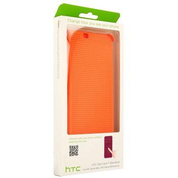HTC flipové pouzdro Dot View HC M170 pro HTC Desire 826, oranžová