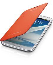 Samsung flipové pouzdro EFC-1J9FO pro Galaxy Note II, oranžové