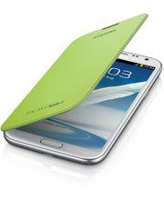 Samsung flipové pouzdro EFC-1J9FL pro Galaxy Note II, světle zelené