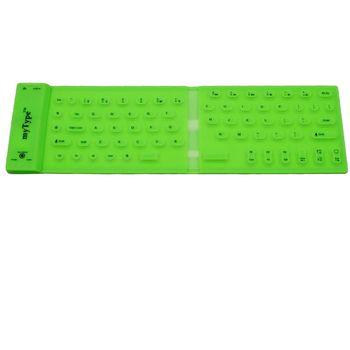 Bezdrátová klávesnice myType zelená