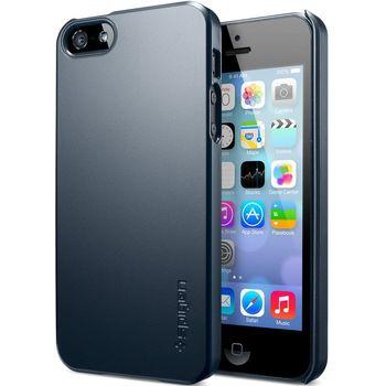 Spigen UltraFit pouzdro pro iPhone 5/5S, černá