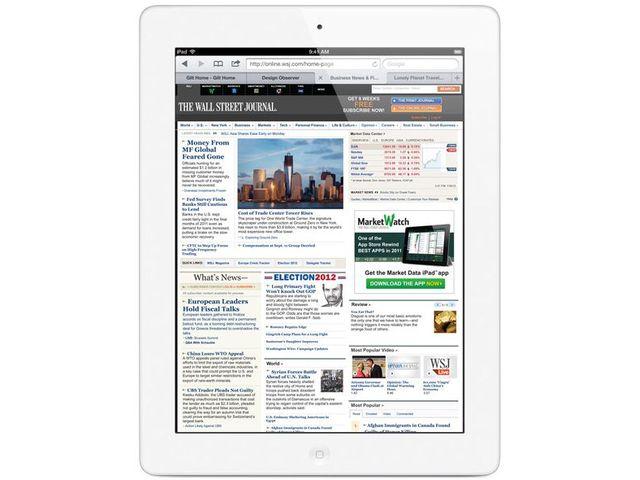 obsah balení Apple iPad s Retina displejem Wi-Fi 16GB bílý + Tivizen HDTV tuner