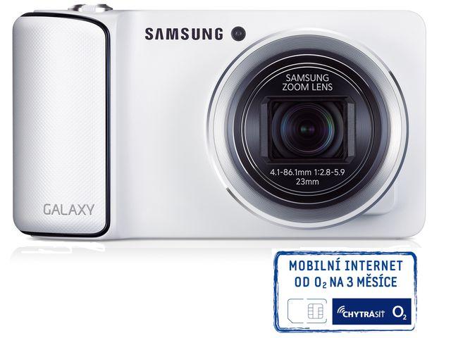 obsah balení Samsung GC100 GALAXY Camera bílá