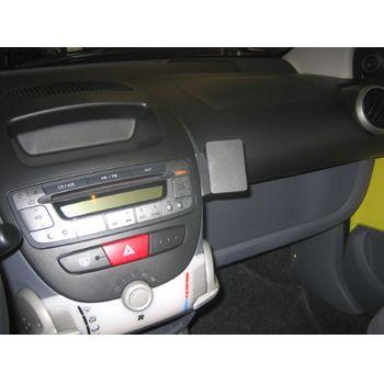 Brodit ProClip montážní konzole pro Citroen C1/ Toyota AYGO/Peugeot 107 06-14, na střed vpravo