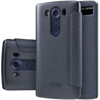 Nillkin flipové pouzdro Sparkle S-View pro LG V10, černé
