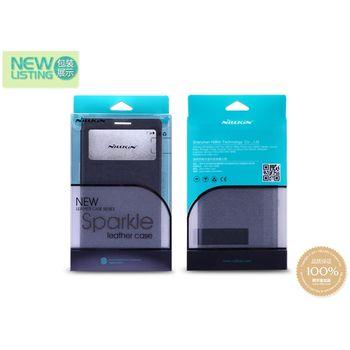 Nillkin Sparkle S-View Pouzdro Black pro HTC ONE 2 mini (M8)
