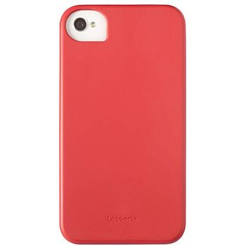 Krusell hard case - BioCover - Apple iPhone 4/iPhone 4S (červená)